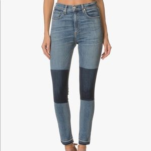 Rag & Bone Olana Skinny High Rise Dive Jeans 25